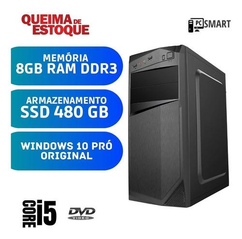 Imagem 1 de 2 de Computador Desktop Cpu I5 4gb Ssd 480gb Win10 Pró Oem Starpc