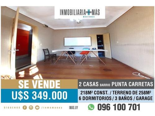 2 Casas Venta Punta Carretas Montevideo Imas.uy L *