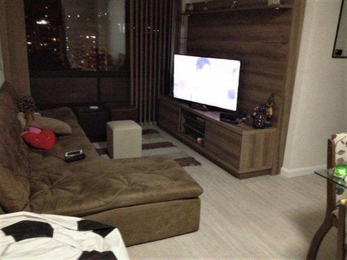 Apartamento Com 2 Dorms, Itararé, São Vicente - R$ 300 Mil, Cod: 1128 - V1128
