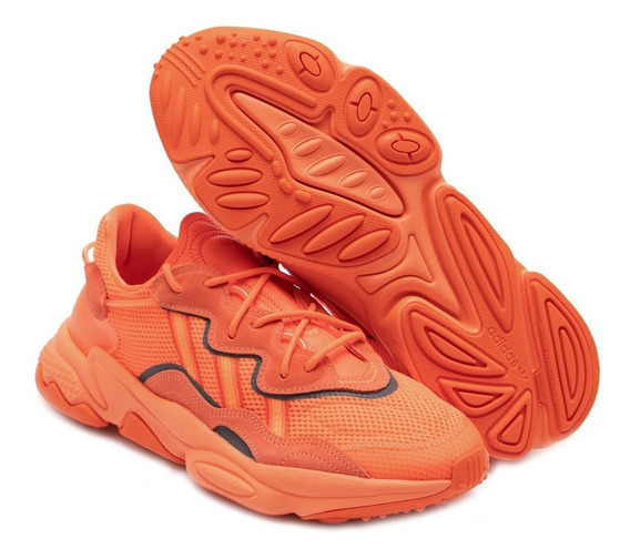 Tenis adidas Ozweego Laranja Bold Orange Casual Nmd Yeezy