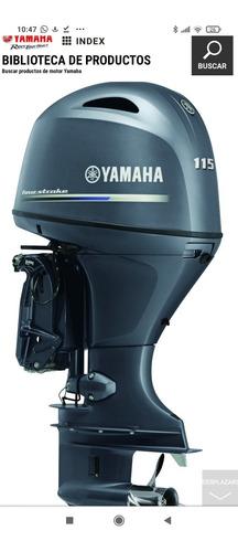 Motor Yamaha 115 Hp