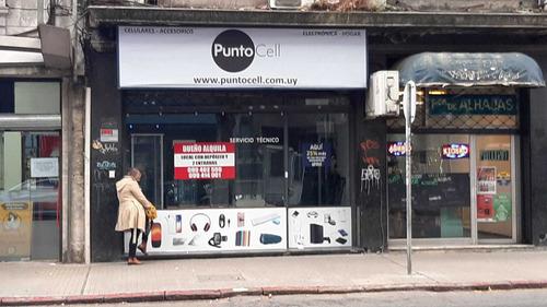 Local Comercial Centro Amplio Ventanal C/vivienda/deposito