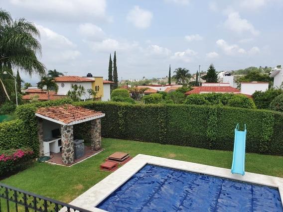 Casa En Venta Lomas De Cocoyoc Jardín Impecable
