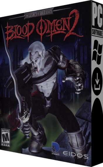 Legacy Of Kain: Blood Omen 2- Pc - Mídia Digital