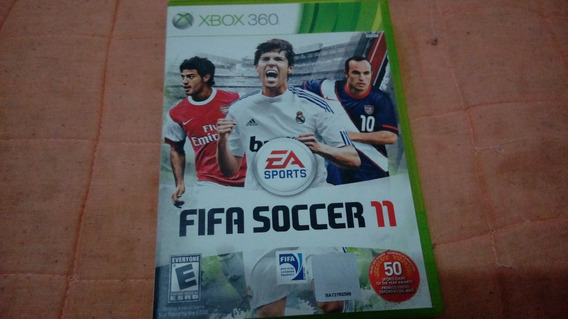 Fifa Soccer 11 - Xbox 360 - Completo - Mídia Física