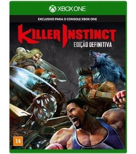 Killer Instinct Definitive Edition Xbox One (lacrado!)