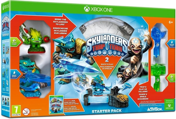 Skylanders Trap Team Xbox One Lacrado - Rj