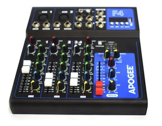 Consola De Sonido Apogee F4 Audio Mixer 4 Canales Usb 48v Fx
