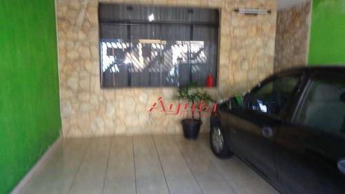 Imagem 1 de 24 de Casa Residencial À Venda, Parque Capuava, Santo André - Ca0133. - Ca0133