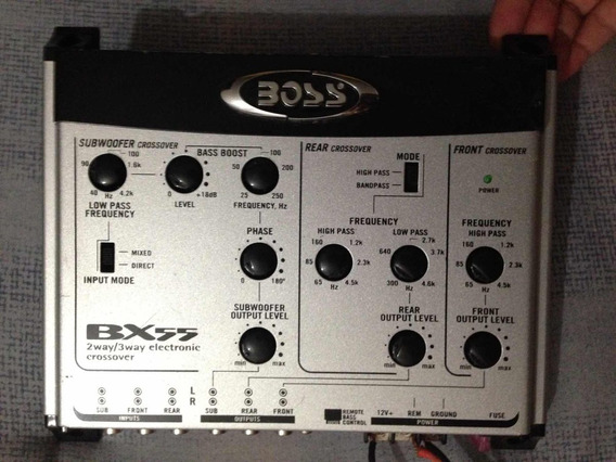 Crossover Boss 2 Way/3way Electronic