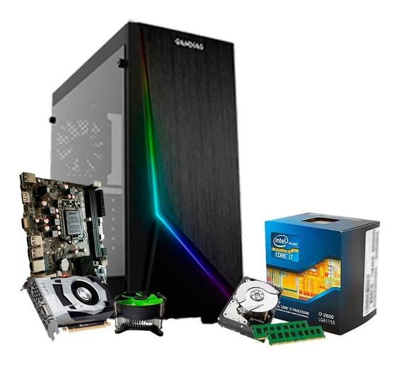 Pc Gamer I7 3.8ghz, Geforce 3gb 1060 Gtx, 16gb, Hd 1tb + Nfe