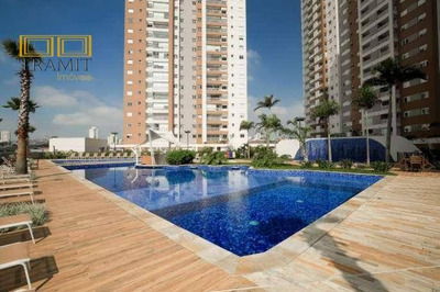 Apartamento Ao Lado Do Shopping Atrium 67 Metros 2 Dormitórios Com Suite E 1 Vaga Em Santo André - Ap0556