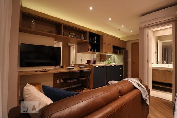 Apartamento Para Aluguel - Centro, 1 Quarto, 33 - 893034083