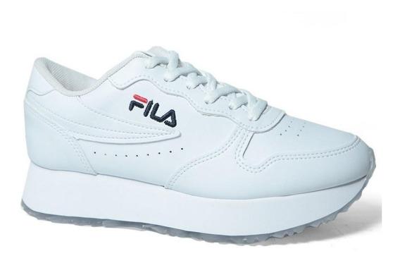 Tenis Fila Euro Jogger Wedge Sl Plataforma