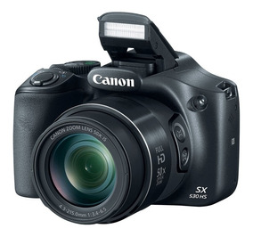 Camera Canon Sx530hs Powershot Wifi +32gb Classe10+ Bolsa