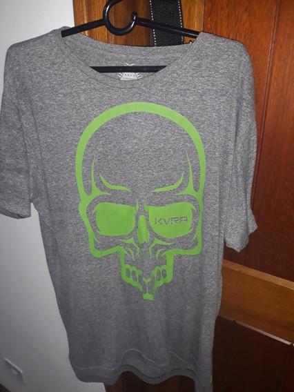 Camiseta Kvra Full Skull