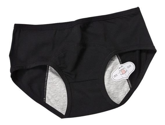 Panty, Calzón Menstruación, Incontinencia Algodón 3 Piezas