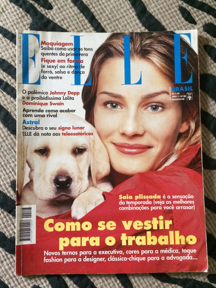 Elle 98 Dominique S Johnny Depp Alexandre Mc Moda Saia Rosan