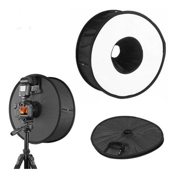 Softbox Ring Para Flash Speedlight 45cm