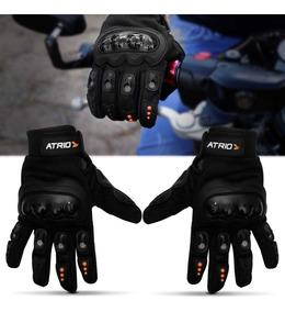 Luva Motociclista Multilaser Atrio Street Com Protetor Preto