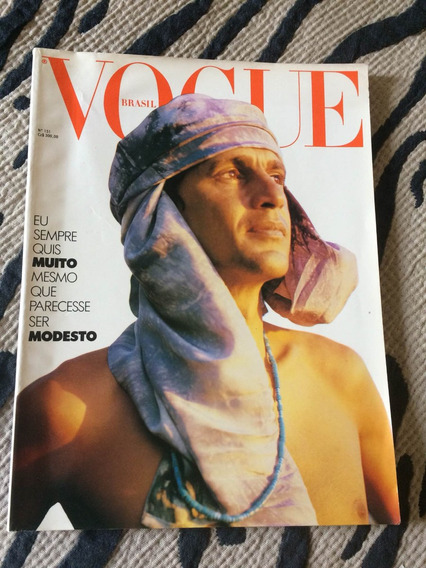 Revista Vogue Ano 88 Especial Caetano Veloso Astro Da Mpb