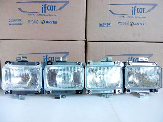 Farol H1 H4 Passat Duplo 83/88 Original Arteb (par)