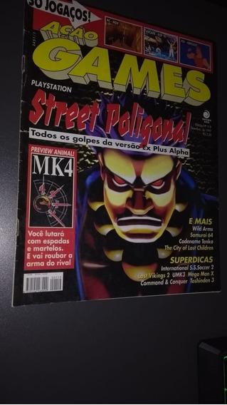 Revista Ação Games 119 Setembro De 1997