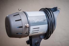Flash Da Digiflash 5500 - 200w - Bivolt Para Estúdio