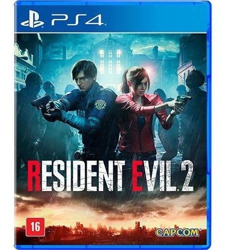 Jogo Resident Evil 2 Playstation 4 Novo Lacrado Português