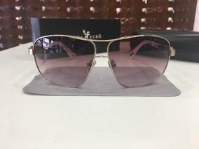 1313efca9 Óculos De Sol Marc Ecko | Eck 82224 64 11 140 Lente Roxa