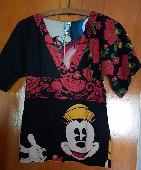 Remera Desigual Diseño Mickey Importada Nueva