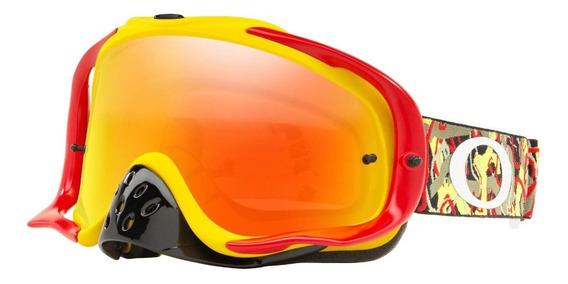 Antiparras Motocross Crowbar Mx Goggle Fire Iridium