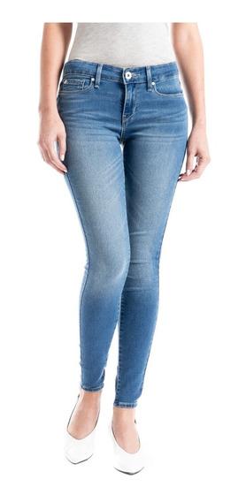 Jeans Denizen® Mujer Azul Tiro Bajo Jegging Mi Vida