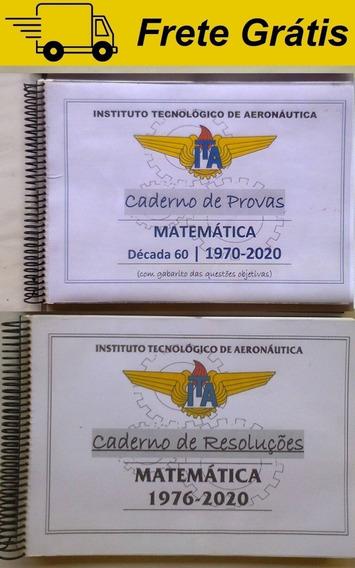 Apostila Provas Ita Matemática Comentada Resolvida Gabarito