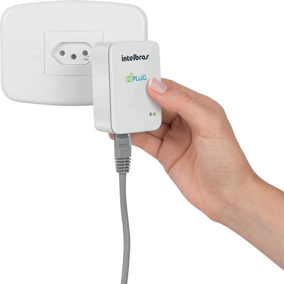 Roteador E Repetidor Wi-fi N150 Intelbras Nplug - Branco