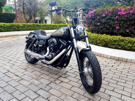 Harley Davidson Dyna Fxd 1600 Custom Lindíssima N Fat Hd 883