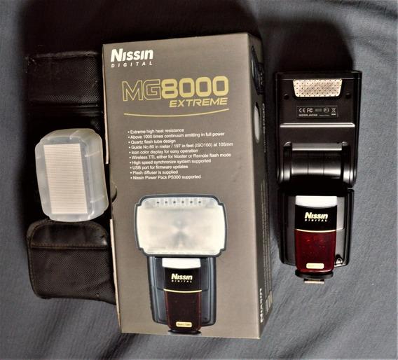 Nikon Flash Nissin Mg8000 Extreme Para Nikon