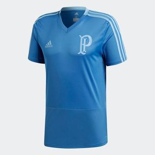 Camisa Azul Viagem Palmeiras adidas 2018