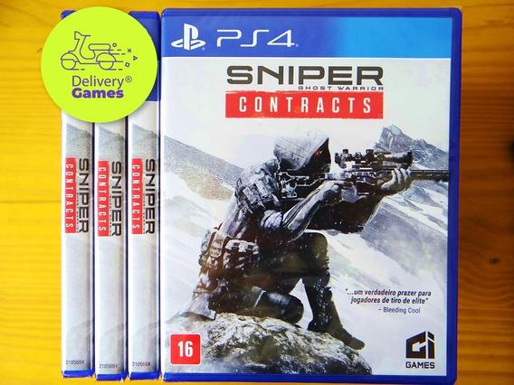 Sniper Ghost Warrior Contracts Ps4 Mídia Física Lacrado