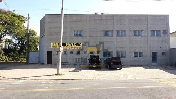 Galpão / Barracão Industrial À Venda Ou Locação, Vale Verde - Valinhos/sp - Ga0051