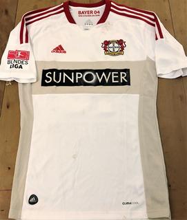 Camisa Bayer Leverkusen 2012/13 Renato Augusto Autografada
