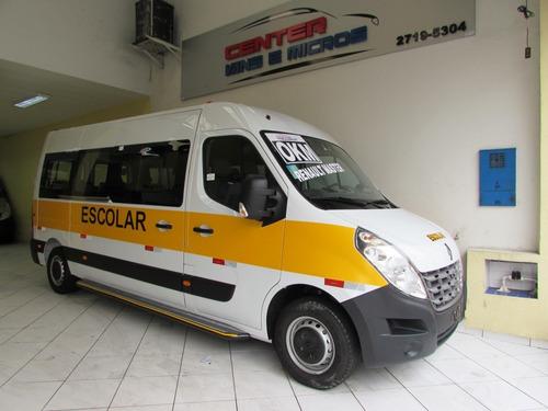 Renault Master Escolar L3h2 0km 20 Lugares Á Pronta Entrega