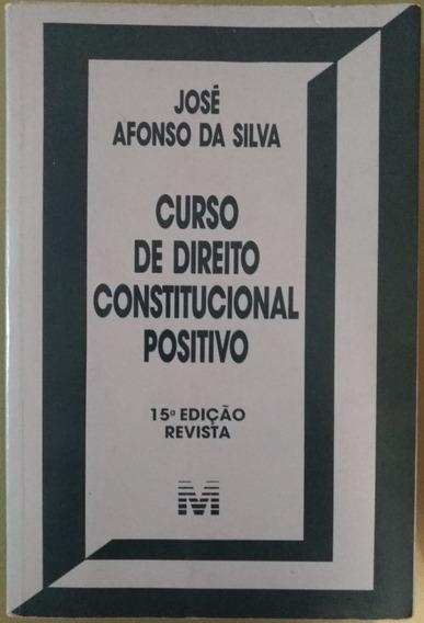 Curso De Direito Constitucional Positivo 15° Edição.
