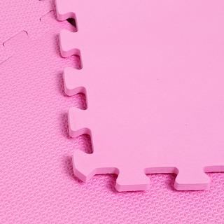 Eva Tatame 59x59 4 Pecas Pink Vmp