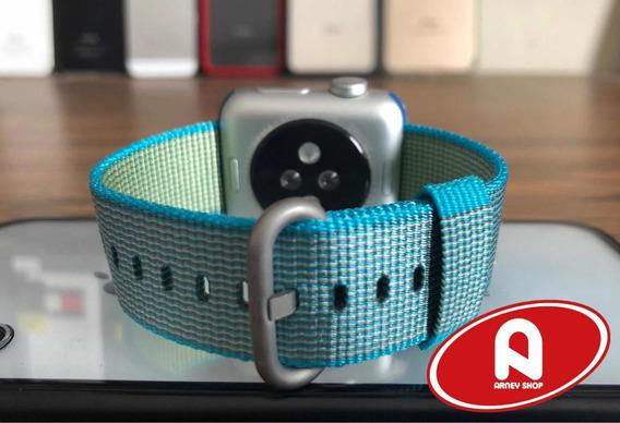 Correas Nylon Con Hebilla Para Apple Watch