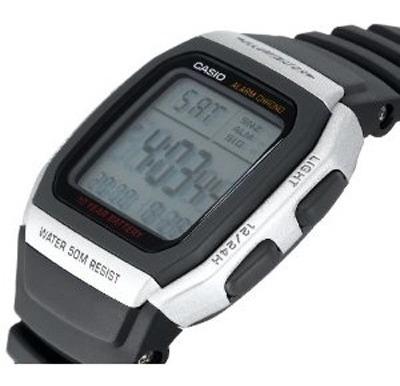 Relogio Casio W-96 - 10 Anos De Bateria 100% Novo E Original