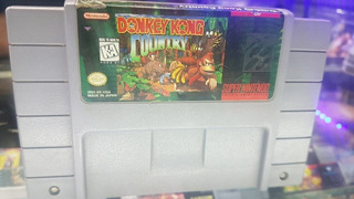 Donkey Kong Country Original Americano Snes Supernintendo