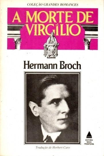 Livro A Morte De Virgílio Hermann Broch