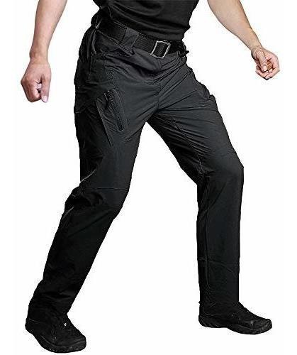 Imagen 1 de 7 de Pantalones Tacticos Militares De Secado Rapido Para Hombres