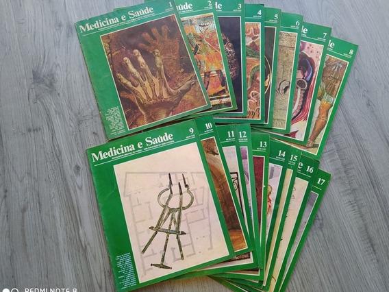 Livro Medicina E Saúde - Coleção Antiga Com 17 Livros - Raro